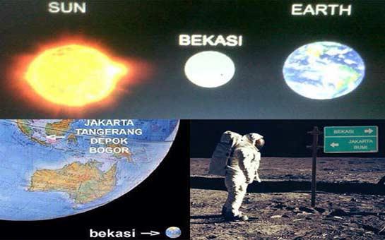 Bekasi, Bagian dari Bulan