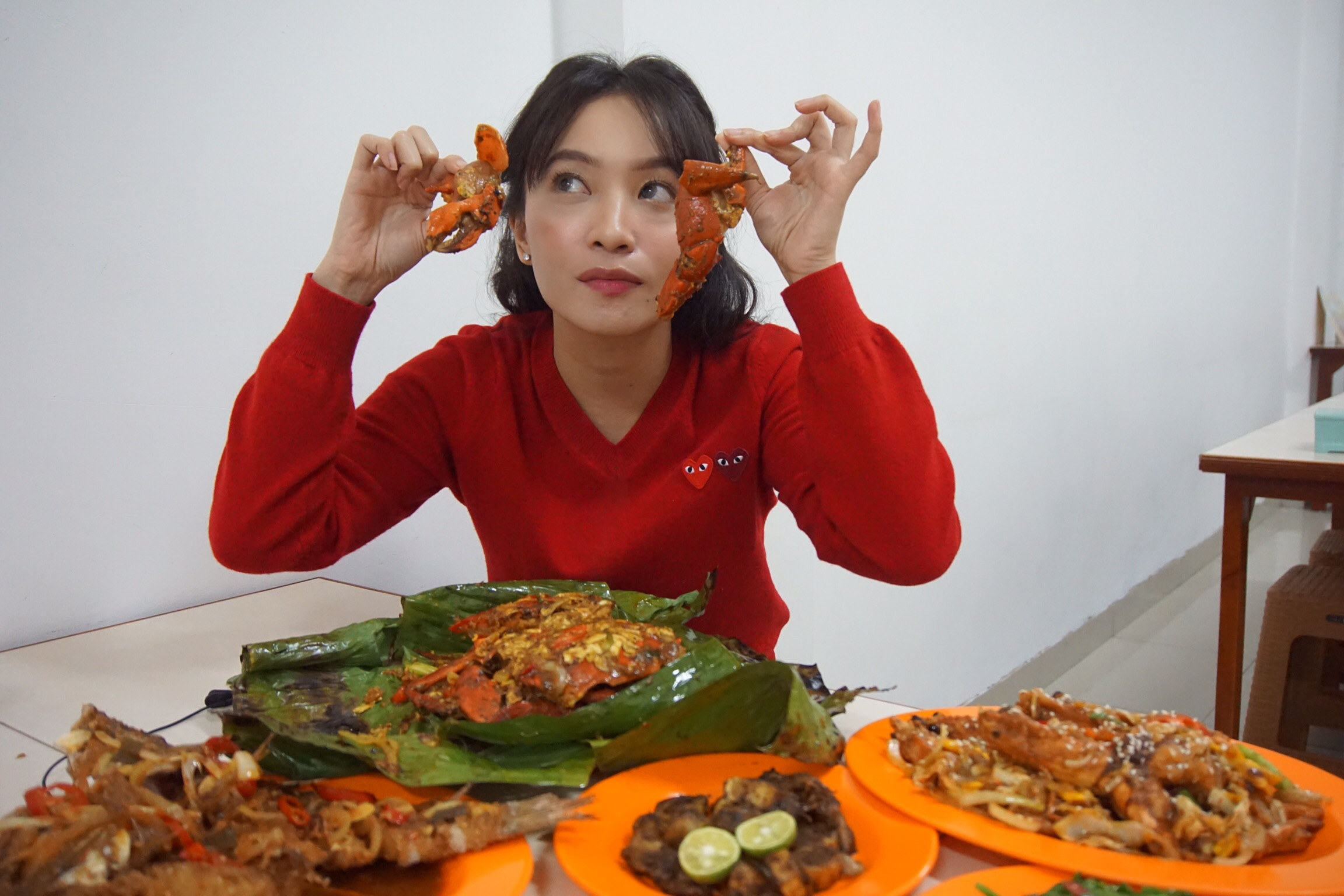 Makan Kepiting Asap Seafood Panembahan45